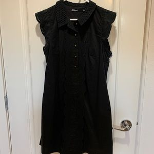 Anthropologie Black Dress